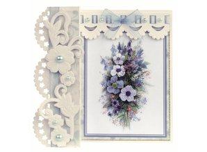 KARTEN und Zubehör / Cards Romantic Folding No2