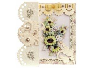 KARTEN und Zubehör / Cards Romantisk Folding No2