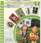 BASTELSETS / CRAFT KITS: M.I.Hummel, ganzj. für 16 Karten