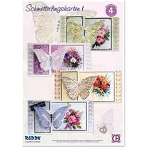 Bastelset Schmetterlingskarten 1