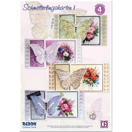 BASTELSETS / CRAFT KITS: Bastelset Schmetterlingskarten 1