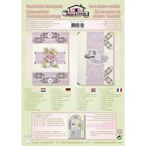Lace sticker - card kit