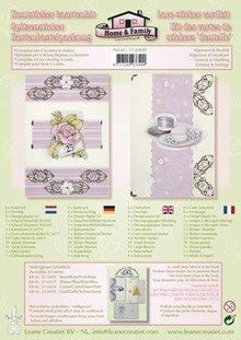 Leane Creatief - Lea'bilities Lace klistermærke - kort kit
