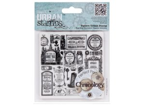 STEMPEL / STAMP: GUMMI / RUBBER Stamps Cling Mounted Stamp Chronology pharmacist