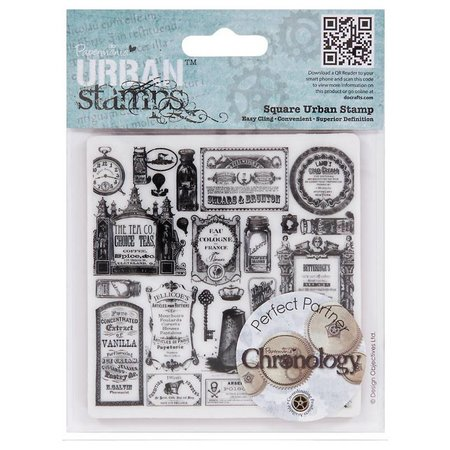 STEMPEL / STAMP: GUMMI / RUBBER Stempel Cling Mounted Stamp Chronology Apotheker