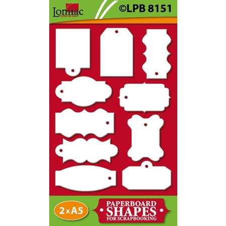 Embellishments / Verzierungen Etiketter til Scrapbooking og kort at gøre