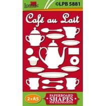 Spånplader motiver Café au lait