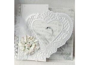 Marianne Design Stansning jig, en filigran hjerte