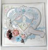 Marianne Design Stanzschablone, ein filigranes Herz