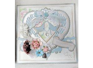 Marianne Design Punching jig, a filigree heart