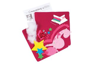 Kinder Bastelsets / Kids Craft Kits Craft Kit: kids felt pad with onte