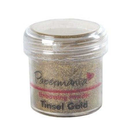 FARBE / INK / CHALKS ... EMBOSSING POWDER 1 OZ TINSEL GOLD - 28 Gram