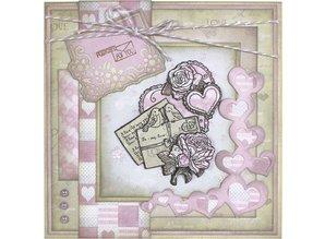 DESIGNER BLÖCKE  / DESIGNER PAPER Yvonne Creations - Paper Pack - Kærlighed