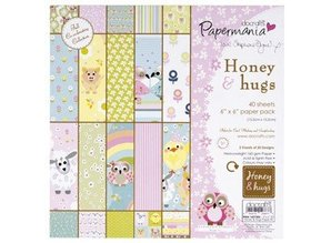 Docrafts / Papermania / Urban 160gr - honey & hugs by stephanie Dyment (40pk)