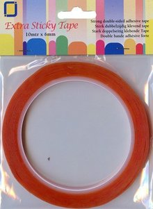 BASTELZUBEHÖR / CRAFT ACCESSORIES Extra strong adhesive tape dobbelseitig