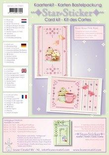 Exlusiv Star adesivi kaarten compleet kit voor 6 kaarten