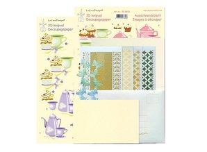 Exlusiv Star stickers kaarten compleet kit voor 6 kaarten