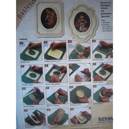 Objekten zum Dekorieren / objects for decorating Kit til træ fotoramme