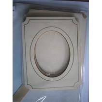 Kit for wooden photo frame