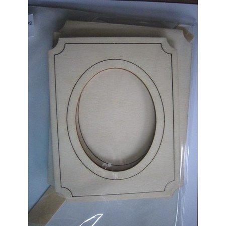 Objekten zum Dekorieren / objects for decorating Kit de marco de fotos de madera