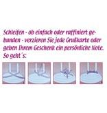 BASTELZUBEHÖR / CRAFT ACCESSORIES einfache Schleifen Binder