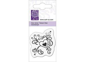 Cart-Us piccolo cuore con riccioli, 5x6cm