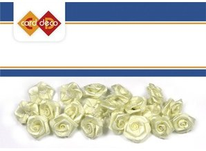 Embellishments / Verzierungen 20 rose bianche