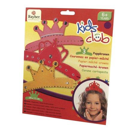 Kinder Bastelsets / Kids Craft Kits 25x11 cm, 3 piece, 3 sorter
