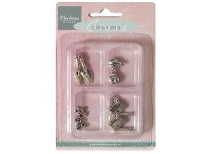 Embellishments / Verzierungen Metall Charms, Garden theme