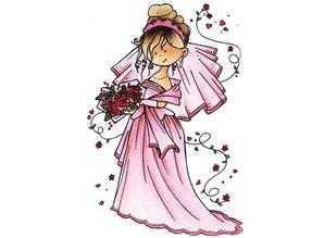Marianne Design Snoesje - Aquí viene la novia, 10,5 x 18 cm