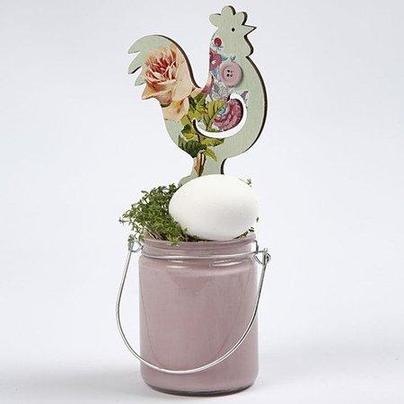 Objekten zum Dekorieren / objects for decorating Pollos Ordenado, H 26 19,5 cm, 2