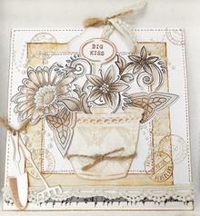 Marianne Design Skæring og prægning stencil + gennemsigtige frimærker