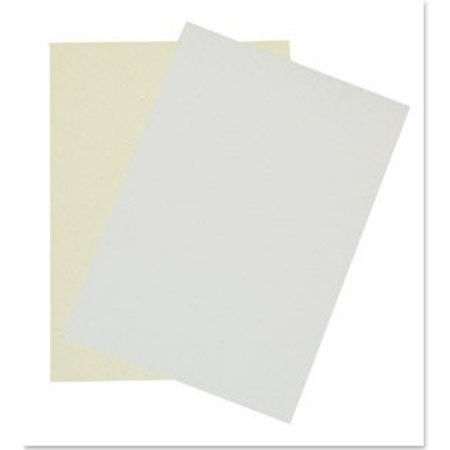 DESIGNER BLÖCKE  / DESIGNER PAPER A4, weiß melliert, 5 Blatt