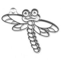Akryl Pendler, Dragonfly, 7x9 cm