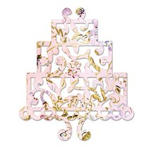 Thinlits Sizzix Stampers - Cake, Drie dieren door Dena Designs