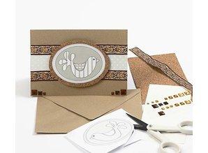 DESIGNER BLÖCKE  / DESIGNER PAPER Carta di disegno, 30,5 x30, 5 cm, 5 fogli