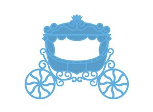 Marianne Design Stamping and embossing stencil, Carriage