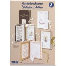 Bastelset, Geschenkbuchkarten für religiöse Anlässe