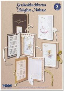 BASTELSETS / CRAFT KITS: Biglietti Craft Kit, libri regalo per le occasioni religiose