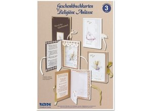BASTELSETS / CRAFT KITS: Craft Kit, gift book tickets for religious occasions