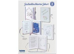 BASTELSETS / CRAFT KITS: Bastelset, Geschenkbuchkarten Geburt