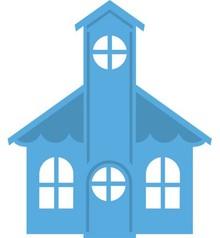 Marianne Design Estampación y embutición de la plantilla, Chapel