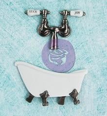 Prima Marketing und Petaloo Metal - Antique Badekar