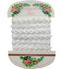 DEKOBAND / RIBBONS / RUBANS ... meget smuk romantiske blonder - romantiske blonder blomster