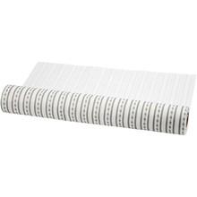 FILZ / FELT / FEUTRE Design filt, B: 45 cm, hvid og grå, 1 m