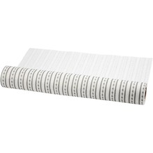 FILZ / FELT / FEUTRE Diseño sentía, W: 45 cm, blanco y gris, 1 m