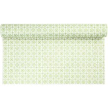 FILZ / FELT / FEUTRE Design felt, W: 45 cm, green with motif, 1 m