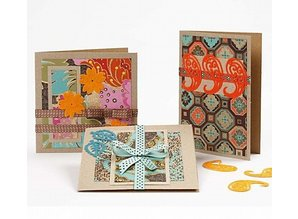 KARTEN und Zubehör / Cards Kartengröße 12,5x12,5 cm, natur