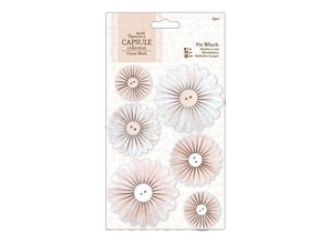 Embellishments / Verzierungen 1m lace border (4 pieces) - Copy