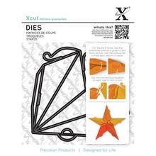 X-Cut / Docrafts Punch - og prægning skabelon til en stjerne